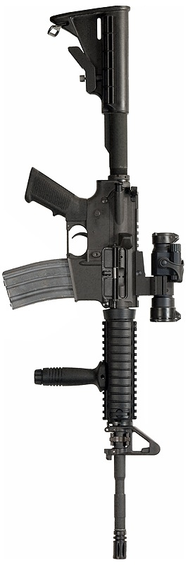 Old Faithful. This thing has saved more US Military lives than you can count. Colt M4A1 - 5x45mm NATO