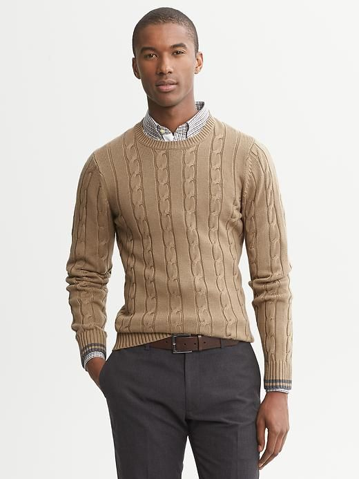 Button Up Under Sweater Mens Style Mens Fashion Gentlemen