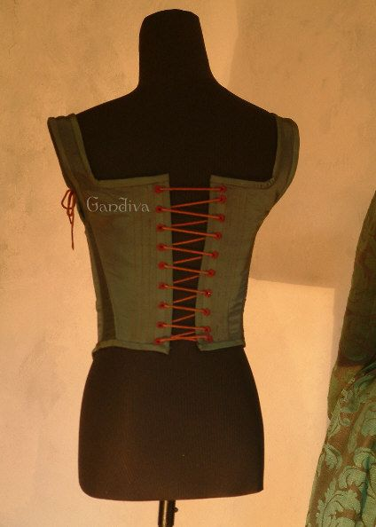 Corset for the 1560s dress