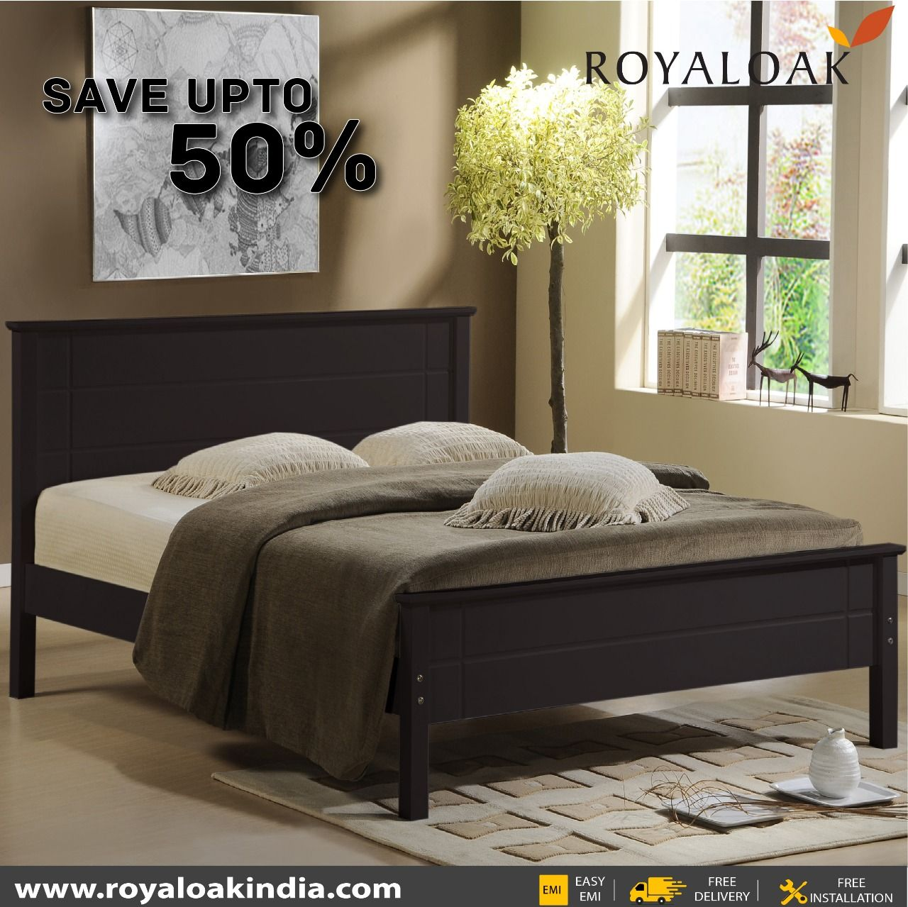 Pin By Royaloak Furniture On Royaloak King Beds Bedroom