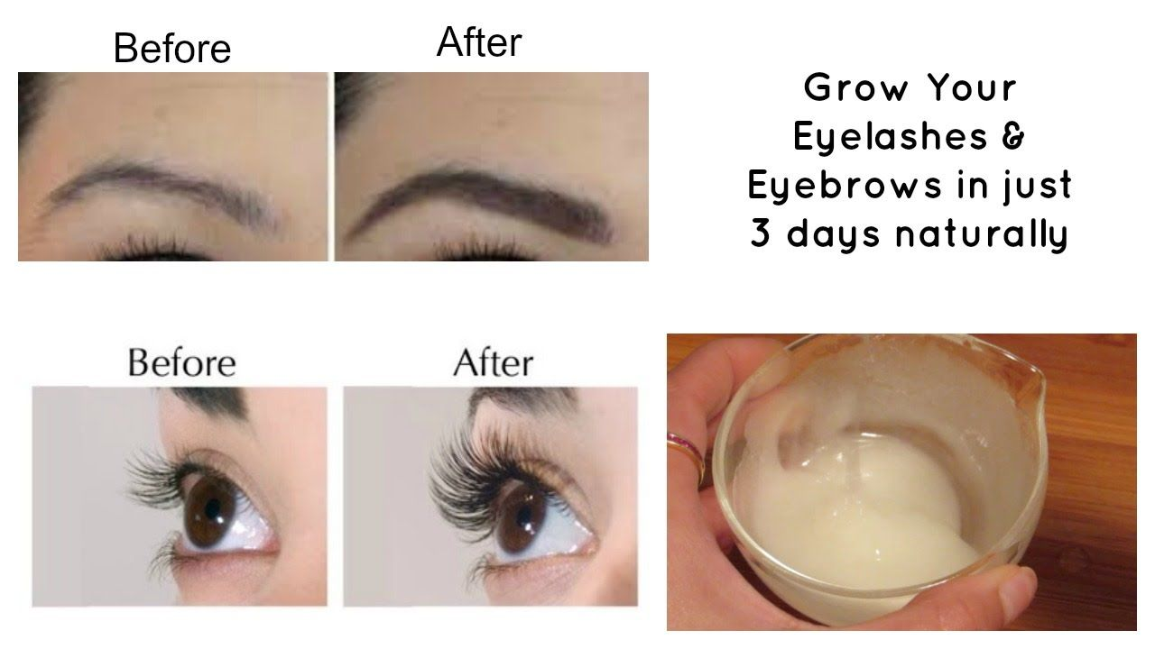 Grow Your Eyelashes Eyebrows In Just 3 Days Eyelash And
