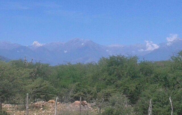 Sierra Nevada vista desde Valledupar Colombia
