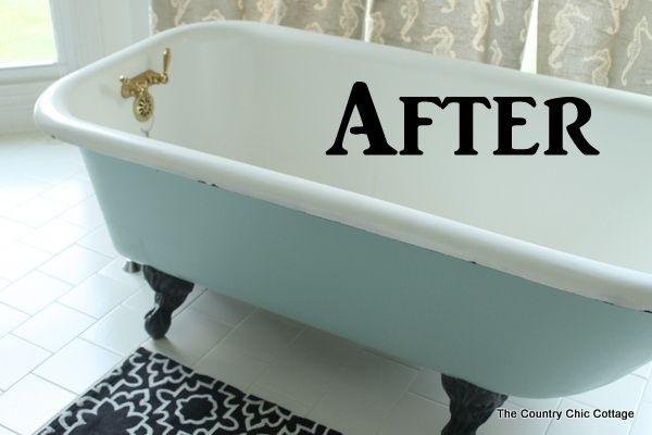 Painting A Claw Foot Tub Clawfoot Tub Tub Cast Iron Tub