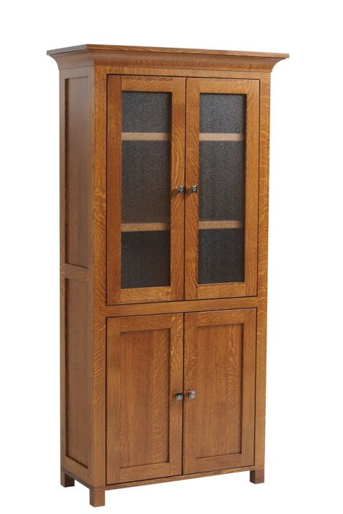 Coventry Bookcase With Doors Dutch Haus Custom Furniture Sarasota Florida