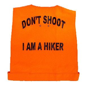 Hiking Safely during Hunting Season: http://www.veganoutdooradventures.com/2014/11/03/hiking-during-hunting-season/