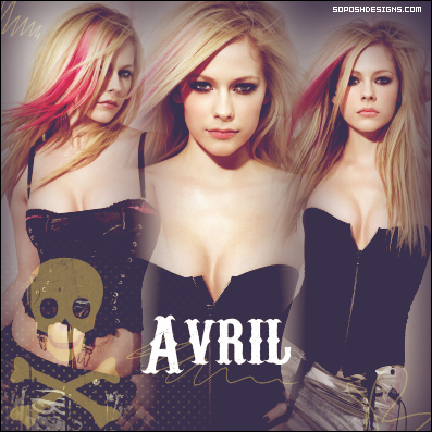 A blend of Avril that I made in 2008 :/