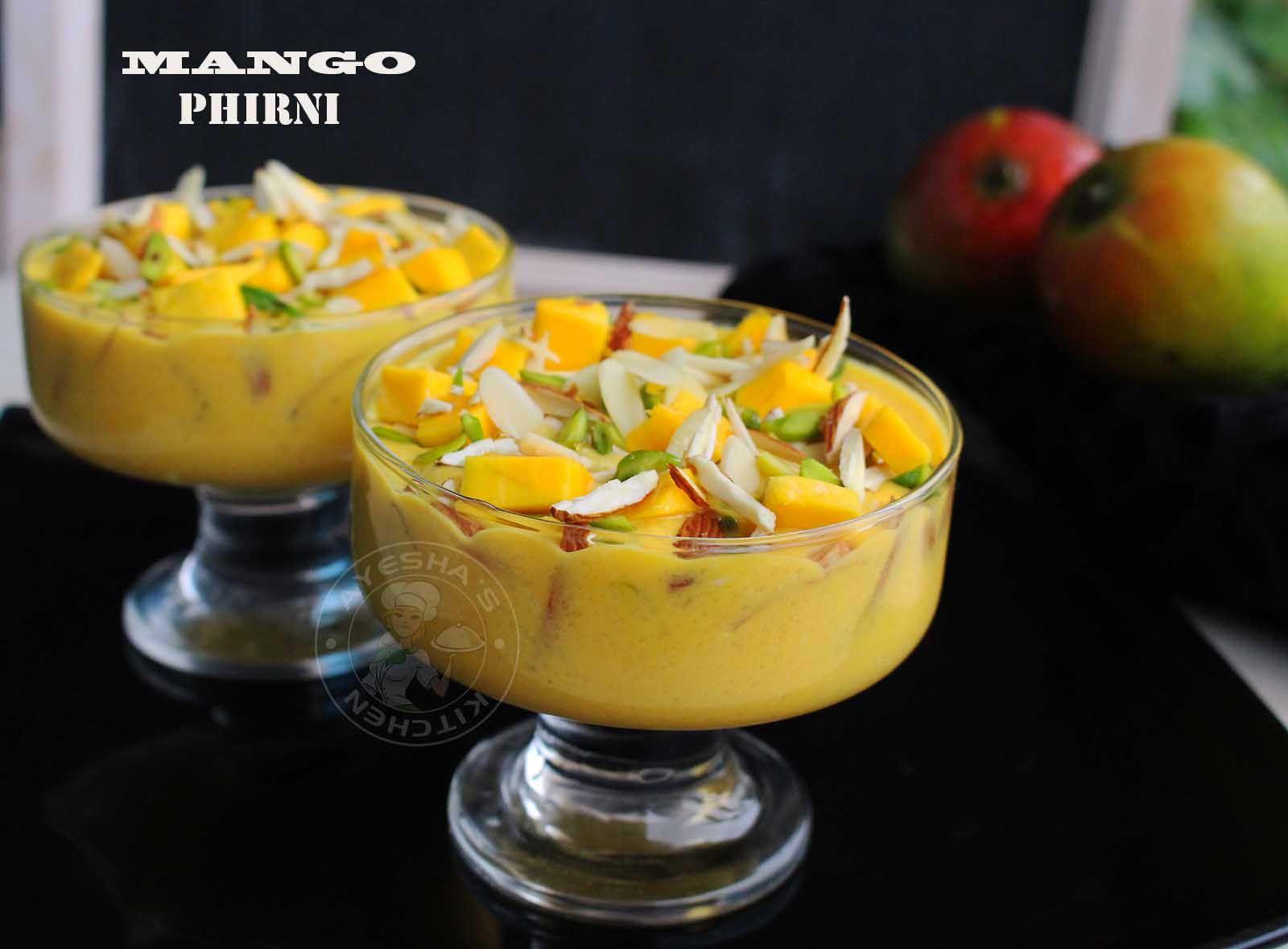 Mango phirni recipe mango dessert recipes indian night pinterest mango phirni recipe mango dessert recipes indian dessertsindian food forumfinder Images