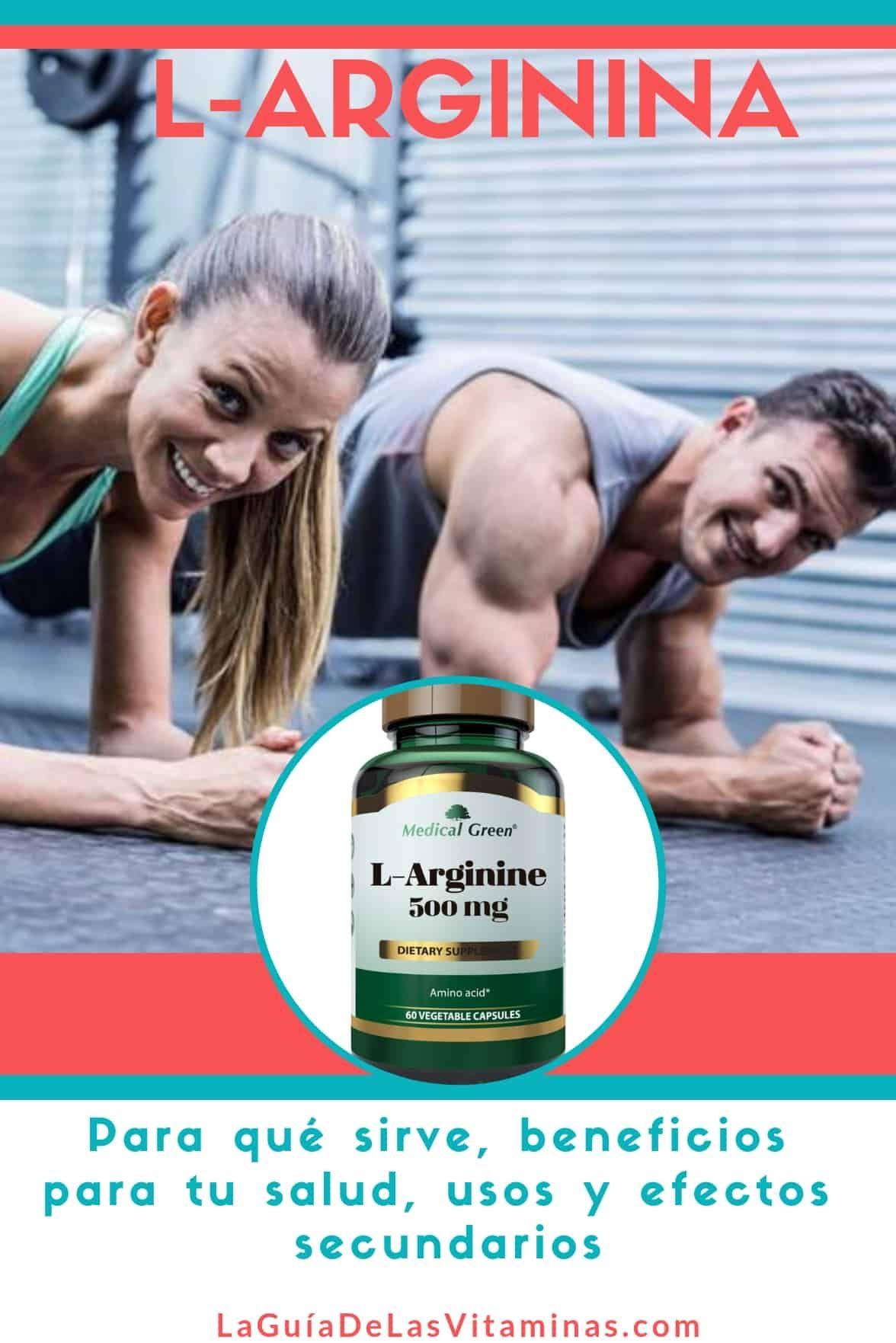 l arginina efectos secundarios