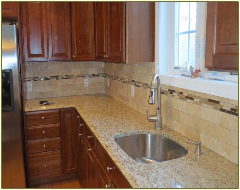 Tile Backsplash Ideas Kitchen Part - 27: Travertine Tile Backsplash Ideas Kitchen