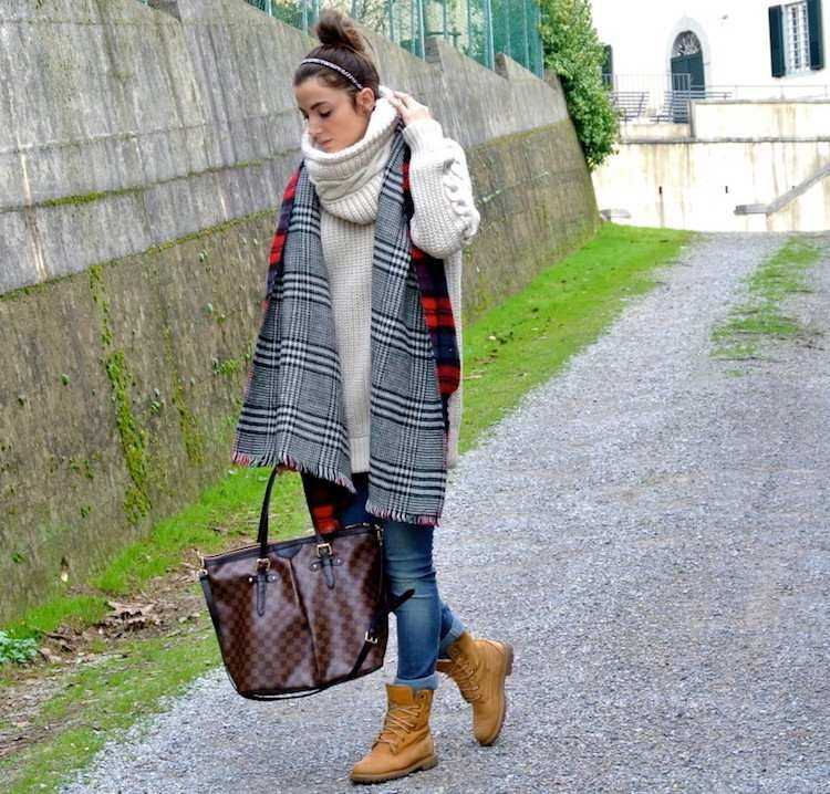 tricot timberland femme