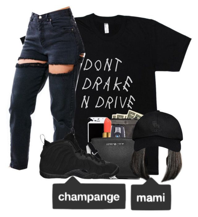 """""""Untitled #257"""" by slayzhane ❤ liked on Polyvore featuring NIKE and October's Very Own"""