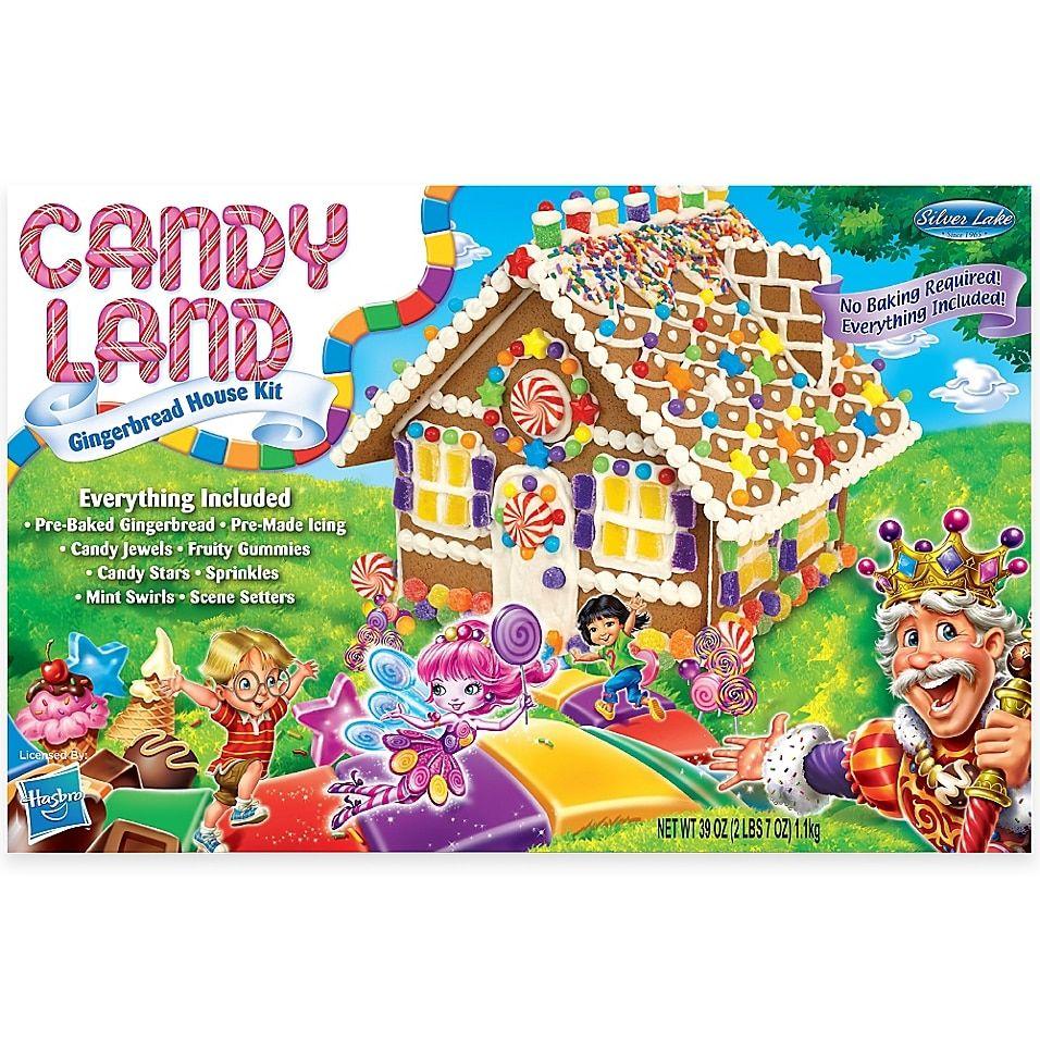 Candyland Gingerbread House Kit Multi Christmas
