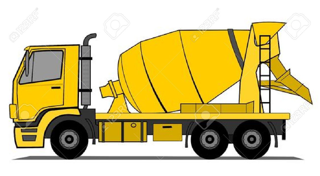 Image Result For Cement Mixer Truck Cartoon Cement Truck Cement Mixer Truck Construction For Kids