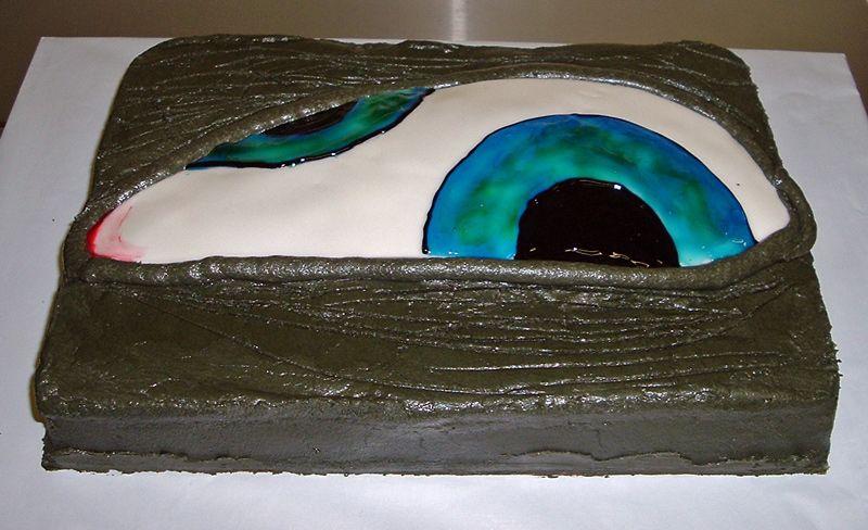 Tool AEnima Cake Around the World in 80 Cakes