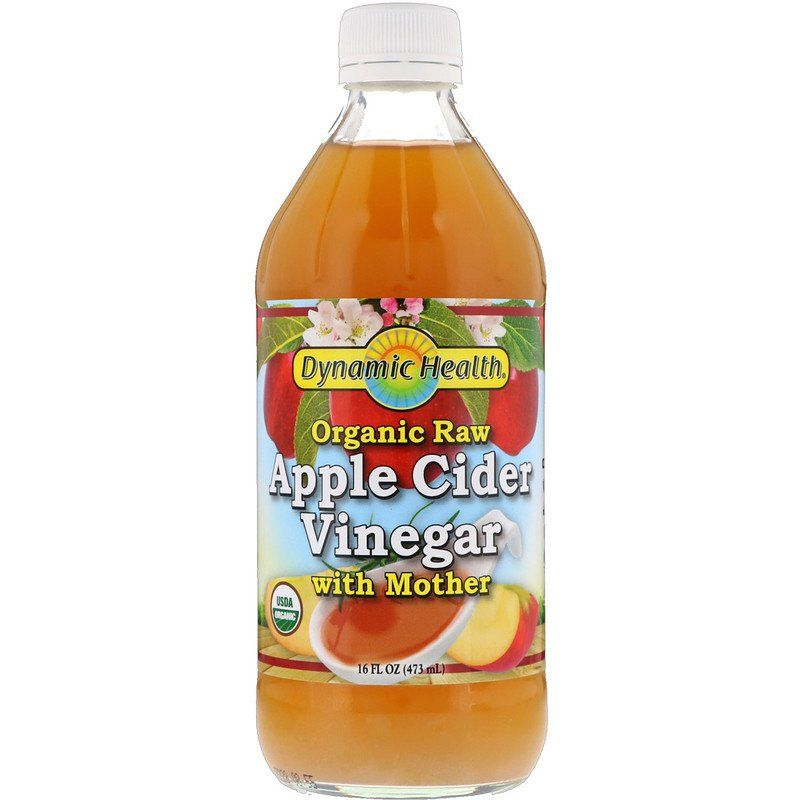 Dynamic Health Laboratories خل تفاح عضوي خام مع أم الخل 16 أونصة سائلة 473 مل Discontinued Item Raw Apple Cider Vinegar Organic Apple Cider Apple Cider