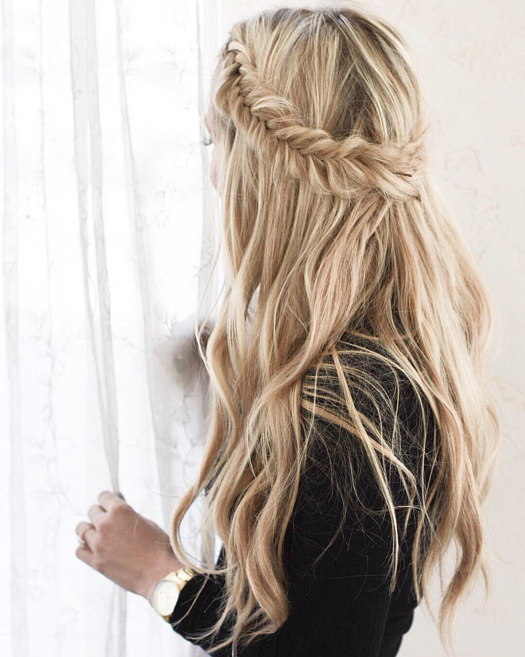 Pinterest sarahmc hairstyles pinterest fishtail braids