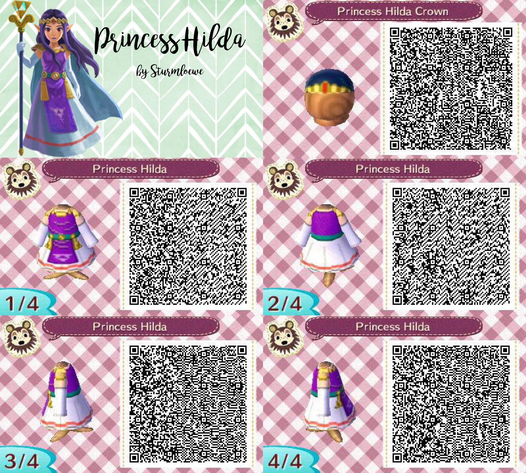 Animal Crossing New Leaf Qr Code The Legend Of Zelda A Link