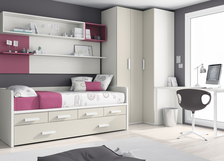 dormitorio #juvenil de @mueblesros.... Guarda lo que quieras ...