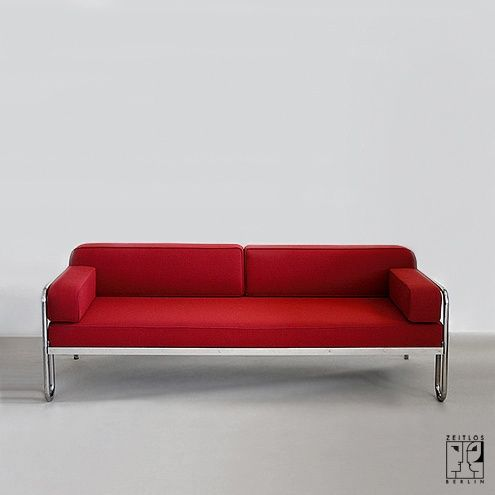 Bauhaus Sofas Cama Slipcovers For Sofa And Loveseat Tubular Steel Couch Daybed In The Style Of Modernism Zeitlos Berlin