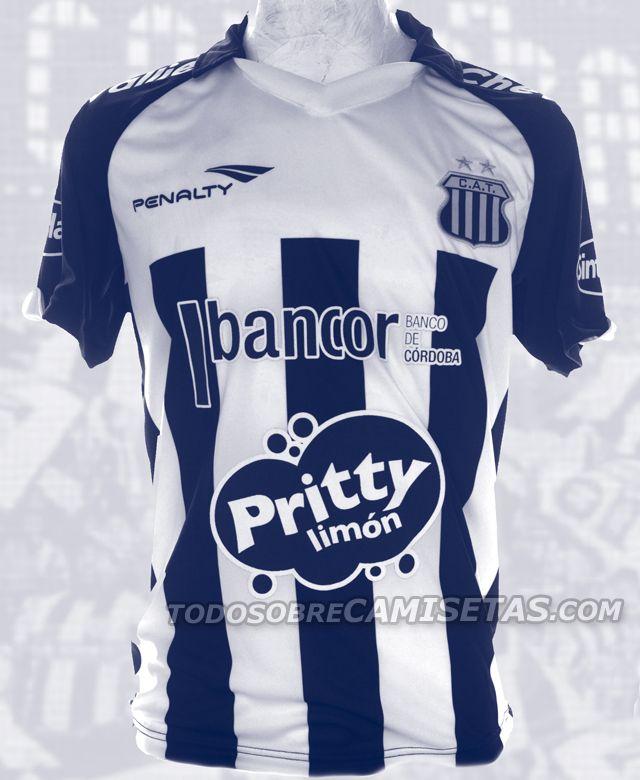 99328a497 Todo Sobre Camisetas  Nueva Camiseta Penalty de Talleres de Córdoba 2013