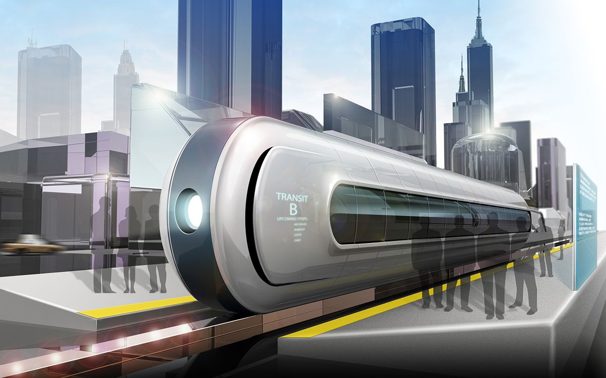 Железнодорожный транспорт будущего