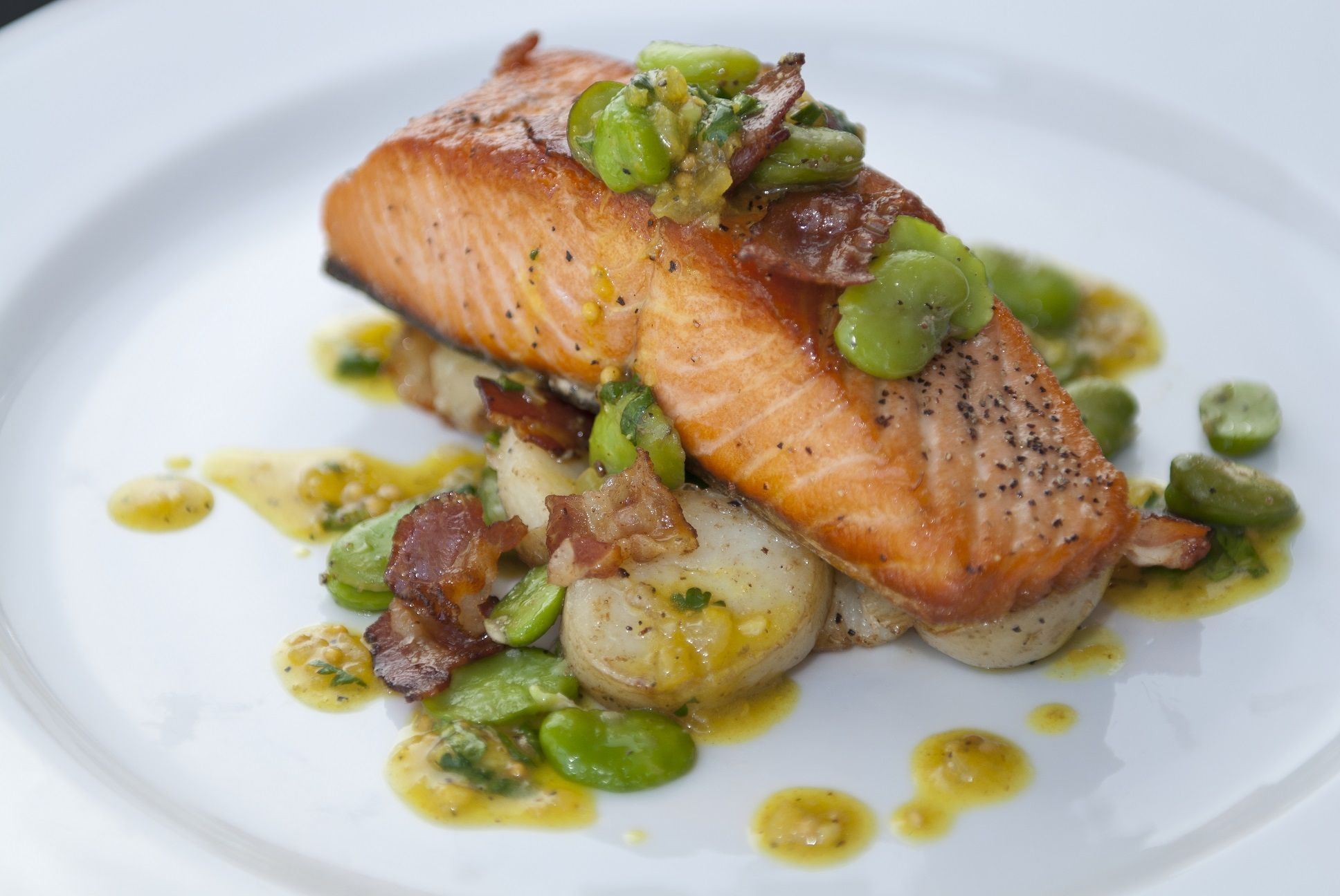 panfried salmon - Google Search