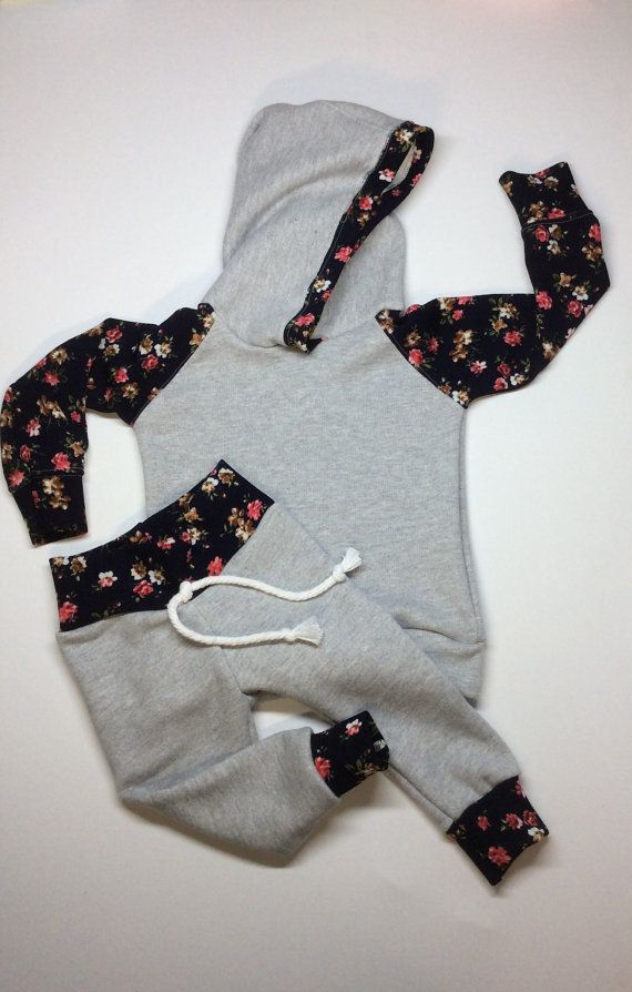 more photos 064e0 5161b baby girl outfit infant sweat suit toddler girl by Peekarookid