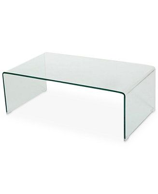 Noble House Senuri Glass Coffee Table Amp Reviews