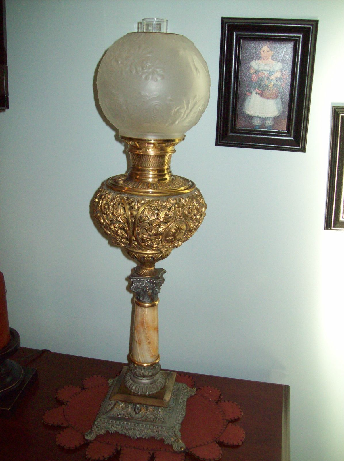 B GONE WITH THE WIND KEROSENE OIL LAMP VICTORIAN ERA 1890u0027S | eBay & B GONE WITH THE WIND KEROSENE OIL LAMP VICTORIAN ERA 1890u0027S | eBay ...