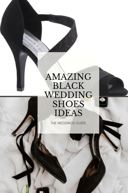 Amazing Black Wedding Shoes Ideas In 2020 Black Wedding Shoes Wedding Shoes Black Velvet Shoes