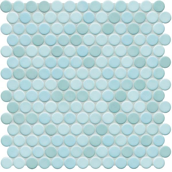 Sonoma Penny Rounds Penny Tile Blue Penny Tile Penny Round Tiles