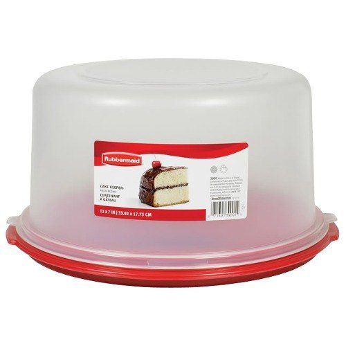 Rubbermaid 1777191 Cake Keeper Cake Pie Storage Container