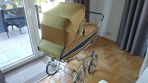 original nostalgie kinderwagen 43 jahre alt 1971 in. Black Bedroom Furniture Sets. Home Design Ideas