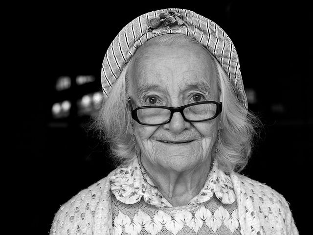 Granny goes Candid... by Thomas Leuthard, via Flickr