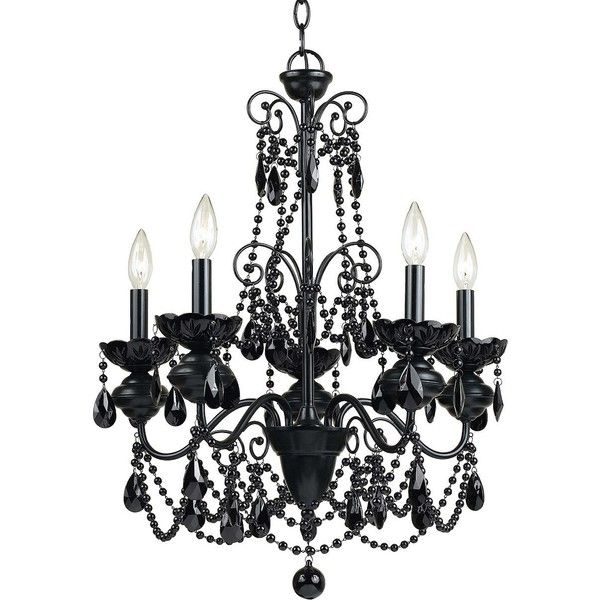 Af lighting elements mischief five light chandelier 224 liked af lighting 5 light mischief chandelier black at atg stores aloadofball Images