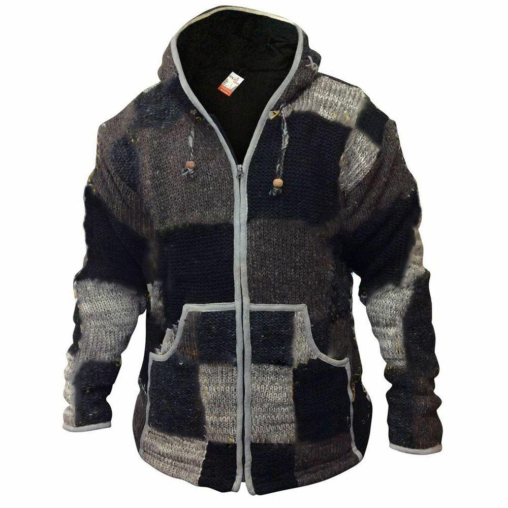 Pocket Color Block Standard Vintage Zipper Sweater Vogueisus Com In 2020 Hood Clothes Men Sweater Cool Outfits