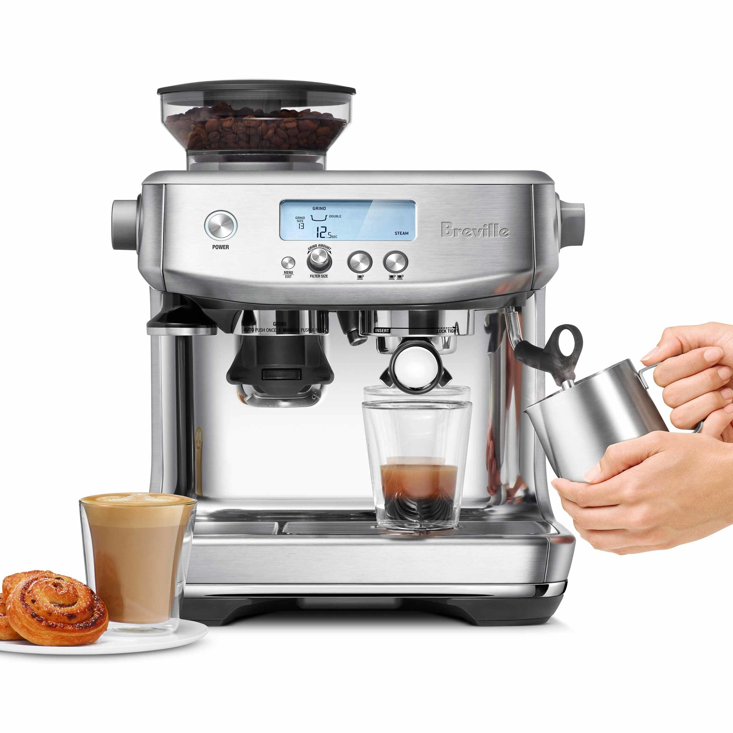 Brew The Perfect Coffee At Home Automatic Espresso Machine Espresso Machine Espresso