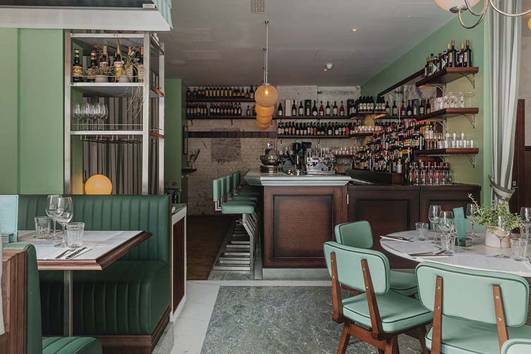 Marking 75 Years As A Veritable London Institution Lina Stores Open Up A Stellar New Space In A Former King S Cross Transit Shed House Made Restaurant Italian Restaurant