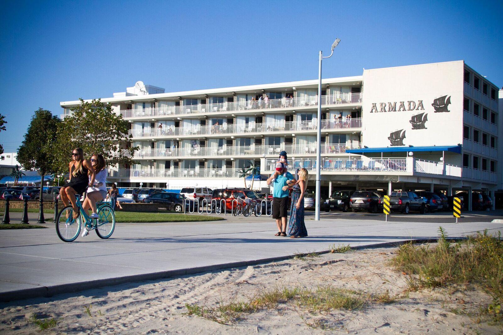 Armada By The Sea Beachfront Hotel In Wildwood Nj