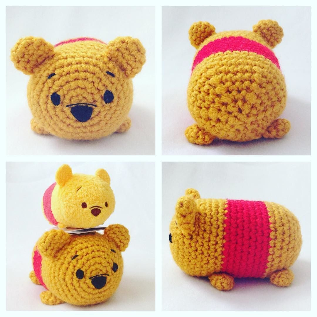 Happy #friday! I had made this #pooh before the tsum tsums came to ...