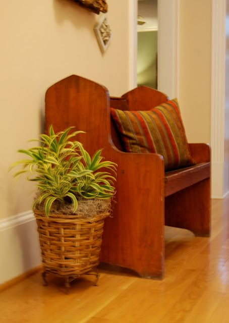 Using Plants At Home Home Furniture Deacons Bench Home