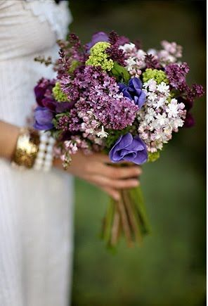 Lilacs 3 Happily Ever After Pinterest Braut Blumen And
