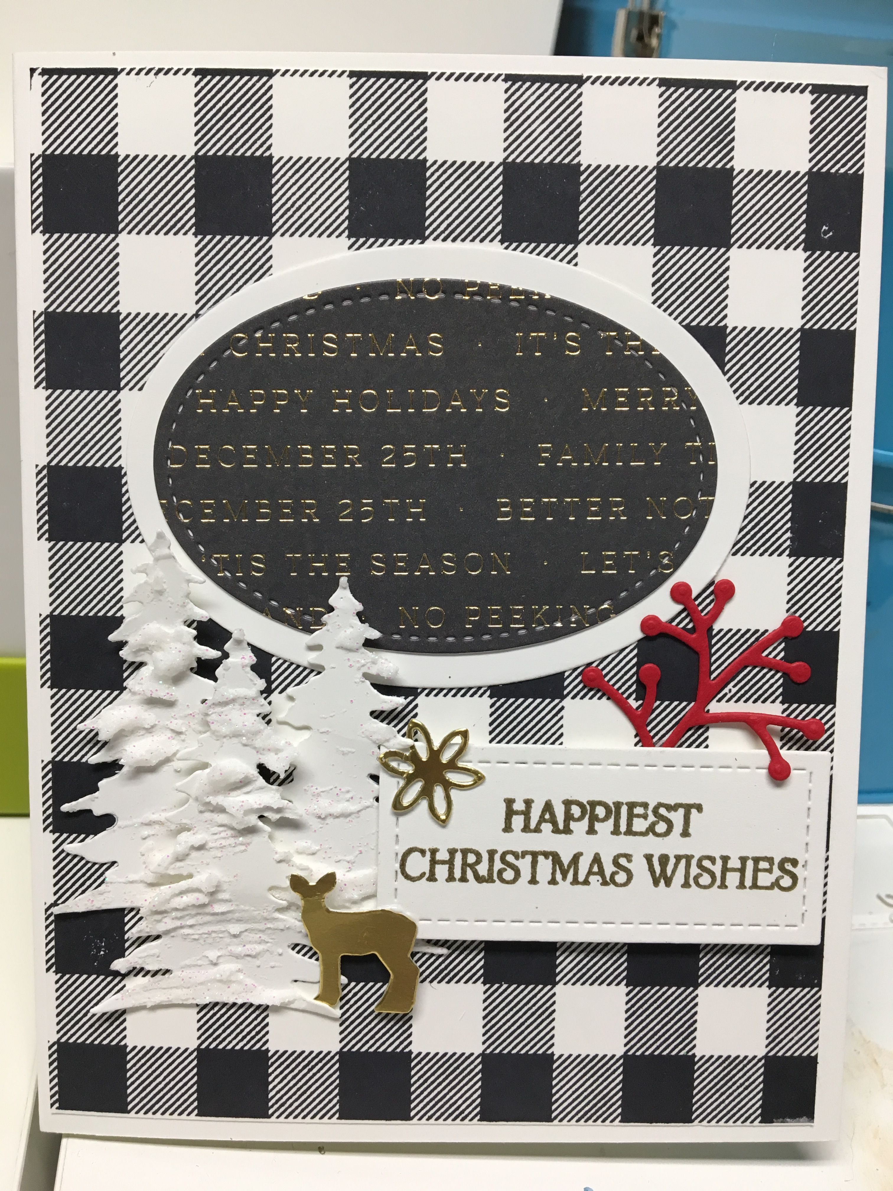 Pin by Mary Beyer on Stampin Up Happy christmas wishes