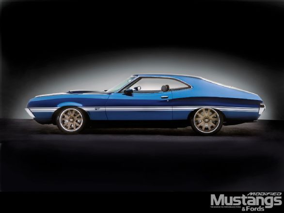 1972 Ford Gran Torino Kudos All Around Old Classic Cars Ford