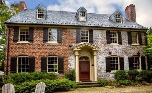 Image Result For How To German Smear Brick Colonial House Exteriors Brick Exterior House Brick House Exterior Makeover