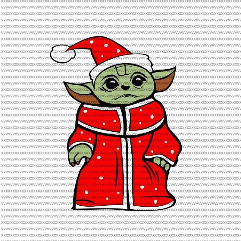 The Mandalorian The Child Svg Baby Yoda Christmas Svg Baby Yoda Red Star Wars Svg Png The Child Png Buy T Shirt Design Yoda Png Star Wars Baby Christmas Svg