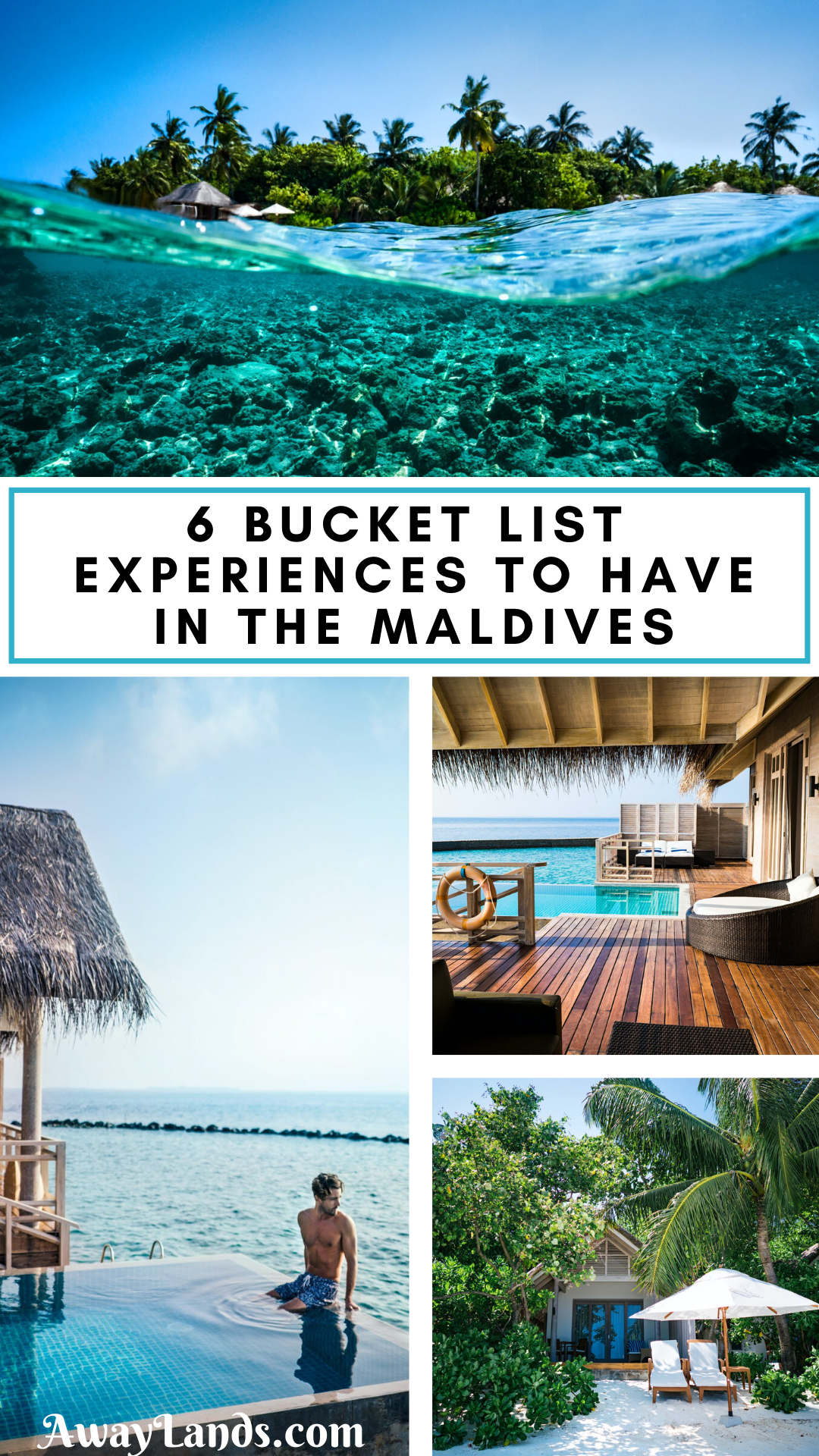 Top 6 Experiences to have in The Maldives | Away L