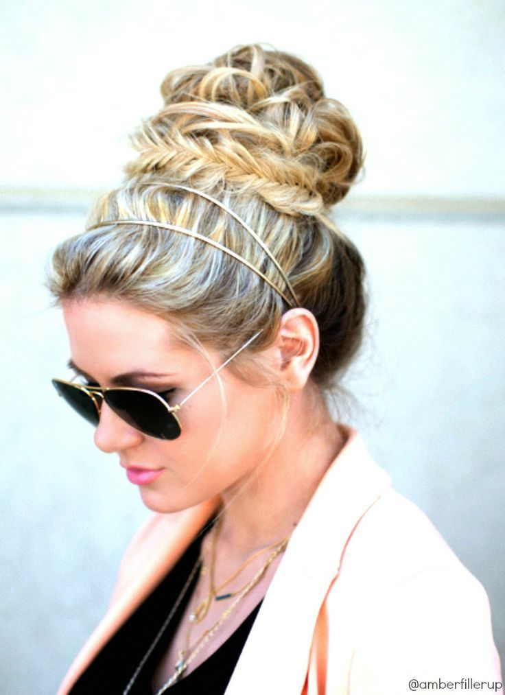 14 Glamorous Hairstyles With Headbands Pretty Designs Hair Styles Headband Hairstyles Hair Beauty