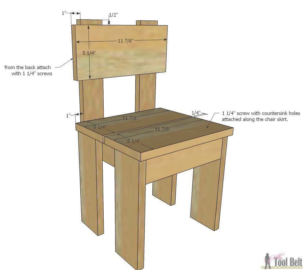 Little Kid Table And Chairs Covered Beach Simple S Chair Set Pallet Projects Pinterest Build An Easy For The Kids Costs About 35 To Free Plans