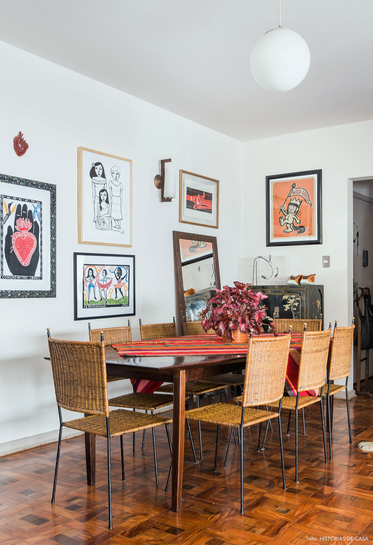 Tesouros Vintage Bohemian D Cor Room And Decorating -> Parede Galeria Sala